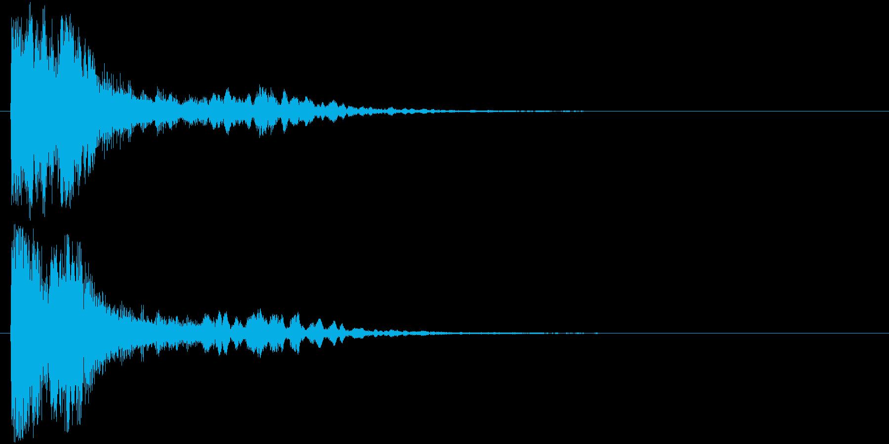 ポリン、ピピポ(電子音)の再生済みの波形