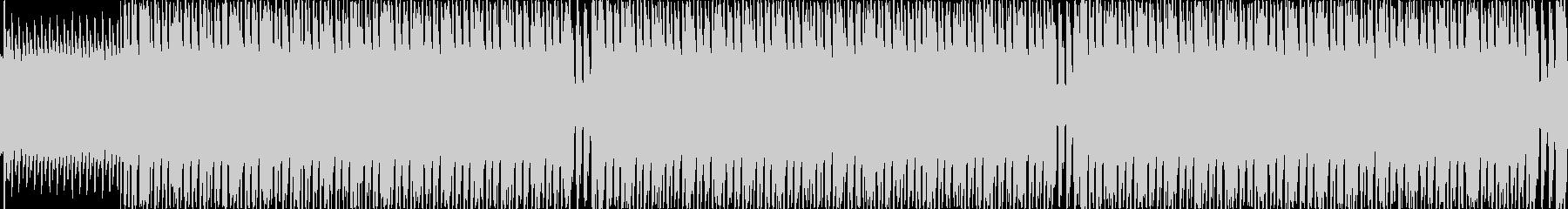 電気タイプの敵との戦闘BGMの未再生の波形