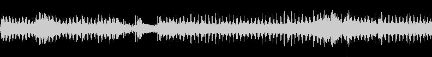 工事現場の機械音の未再生の波形