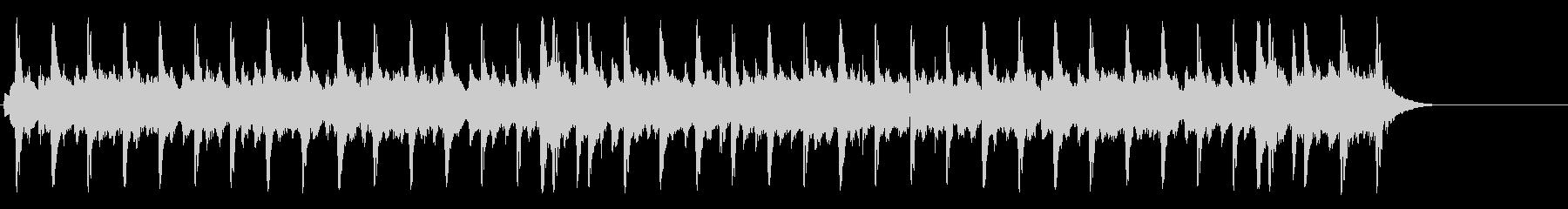 懐古的で温かいセミクラ(A~サビ~A)の未再生の波形