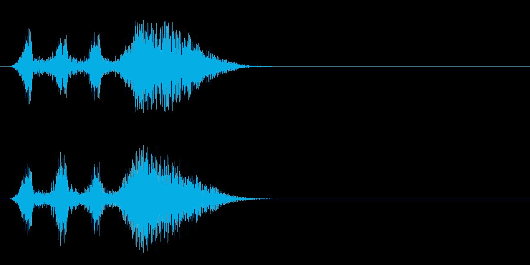 SE系/場面転換ジングルの再生済みの波形