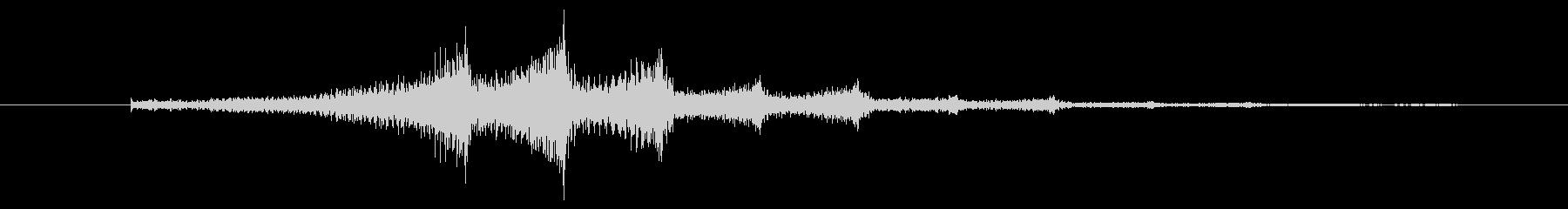 ボワンボワンというホラー系の効果音 の未再生の波形