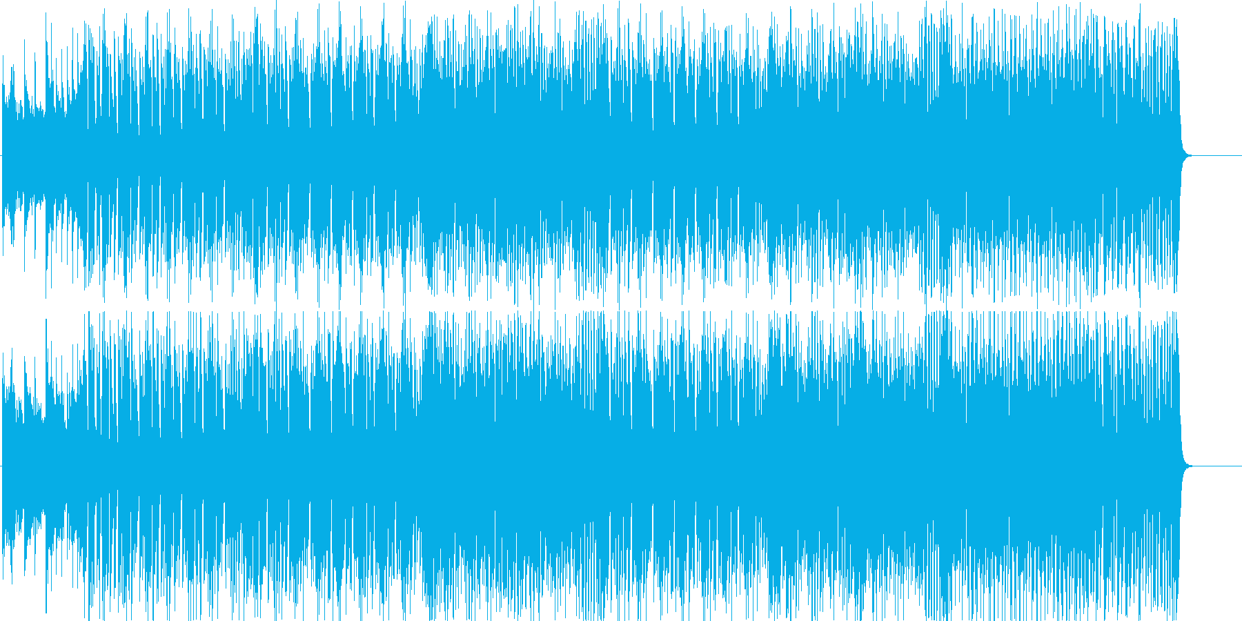 スピード 激しい 挑戦 レース スリルの再生済みの波形