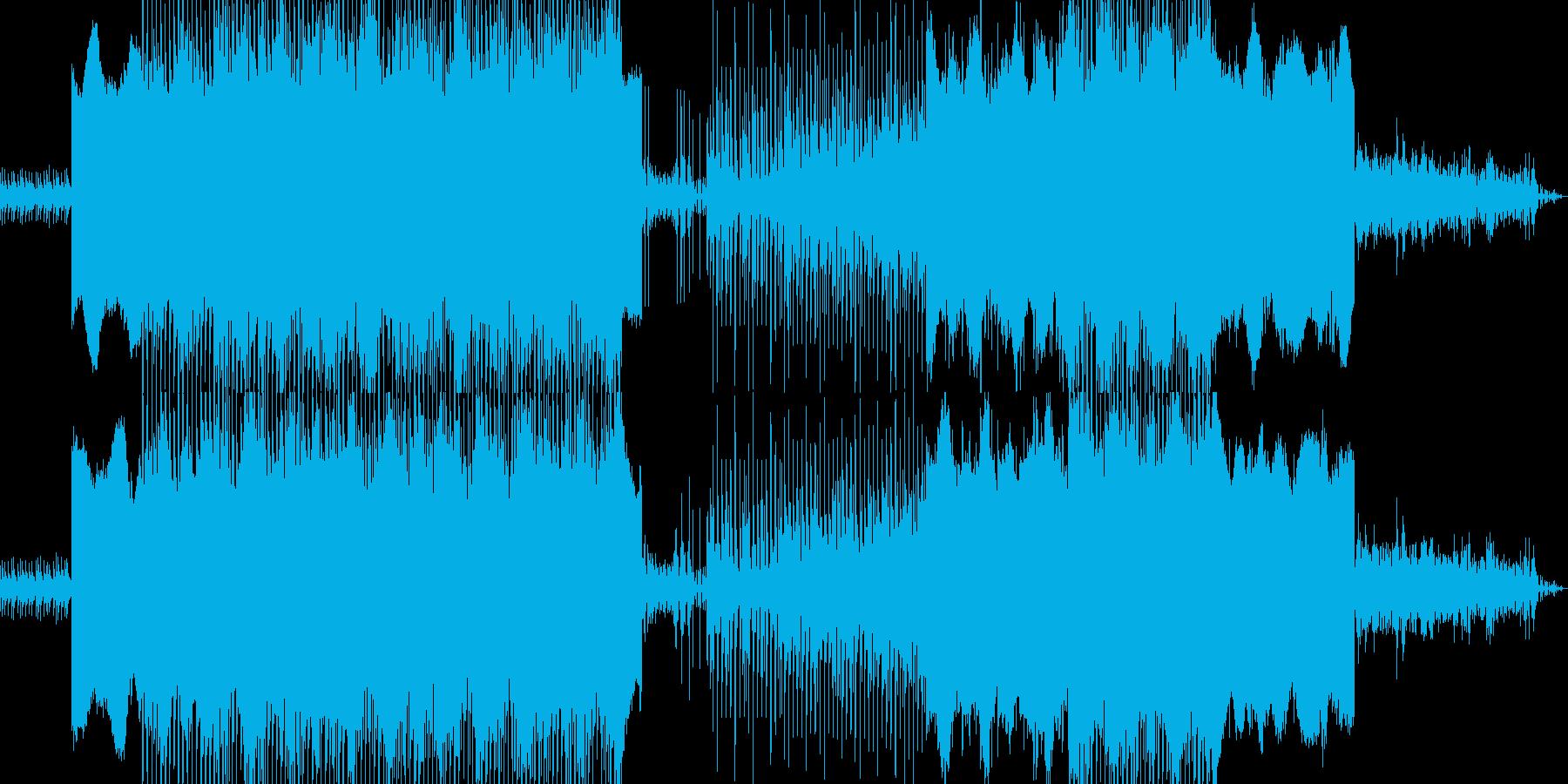 闇の組織のイメージを織り交ぜた曲です。の再生済みの波形