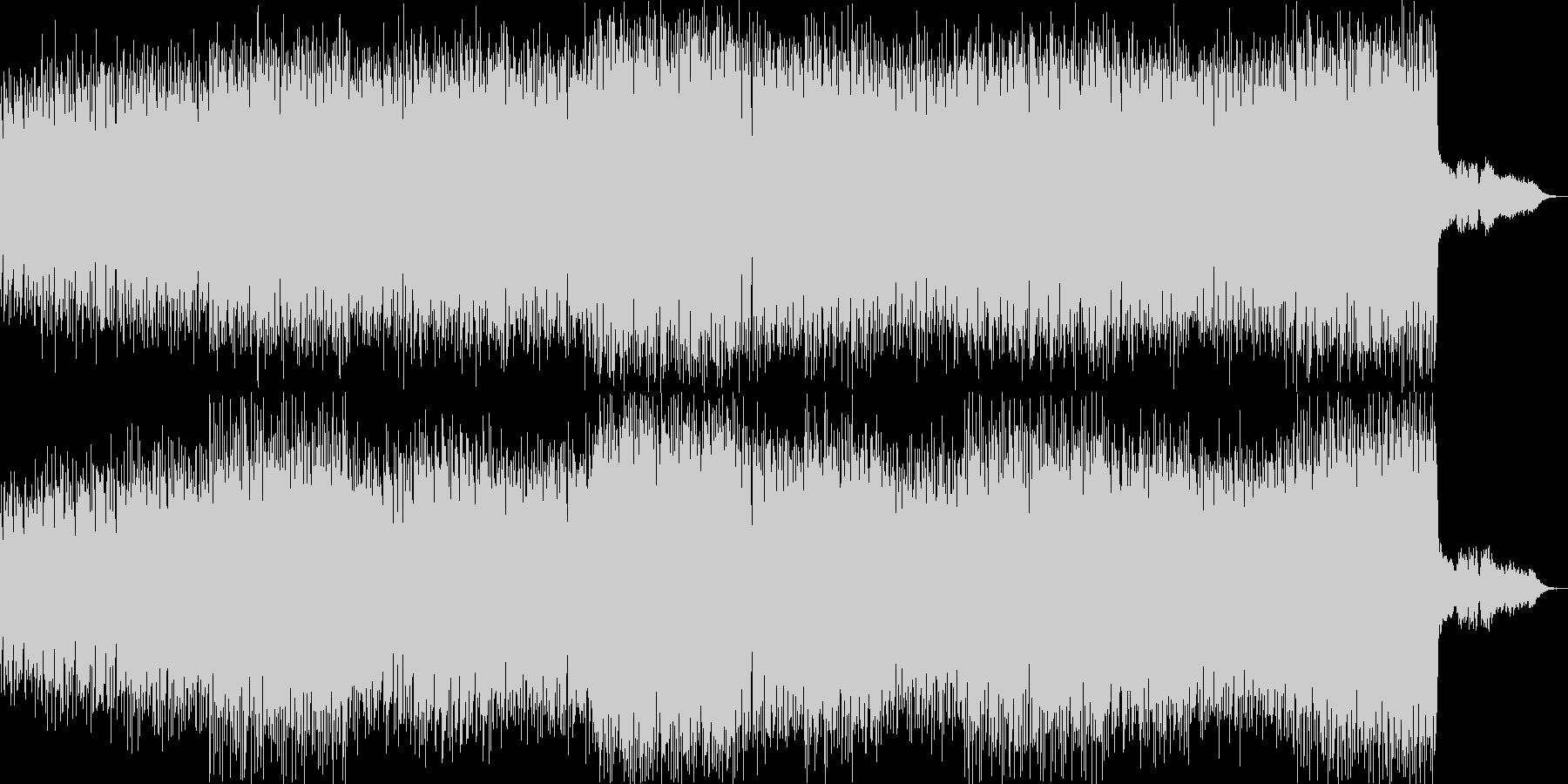 和太鼓を使った不気味なアシッドテクノの未再生の波形