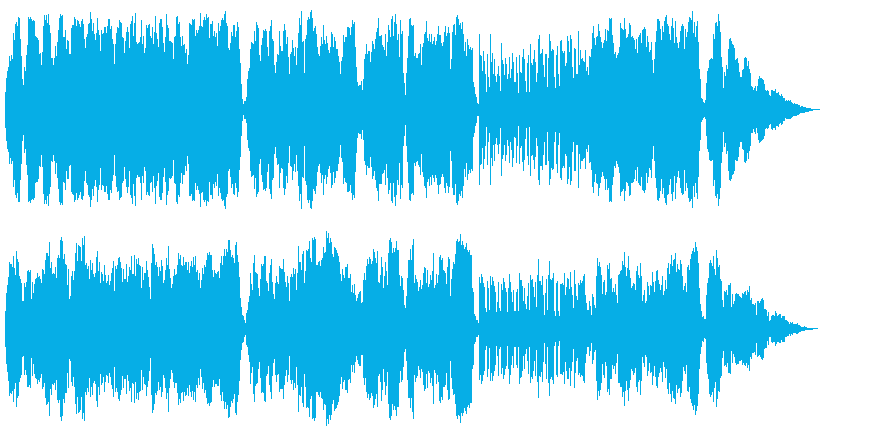 フルート+ストリングス曲_001フルー…の再生済みの波形