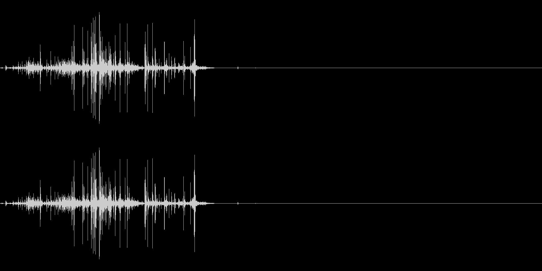 折れる音03の未再生の波形