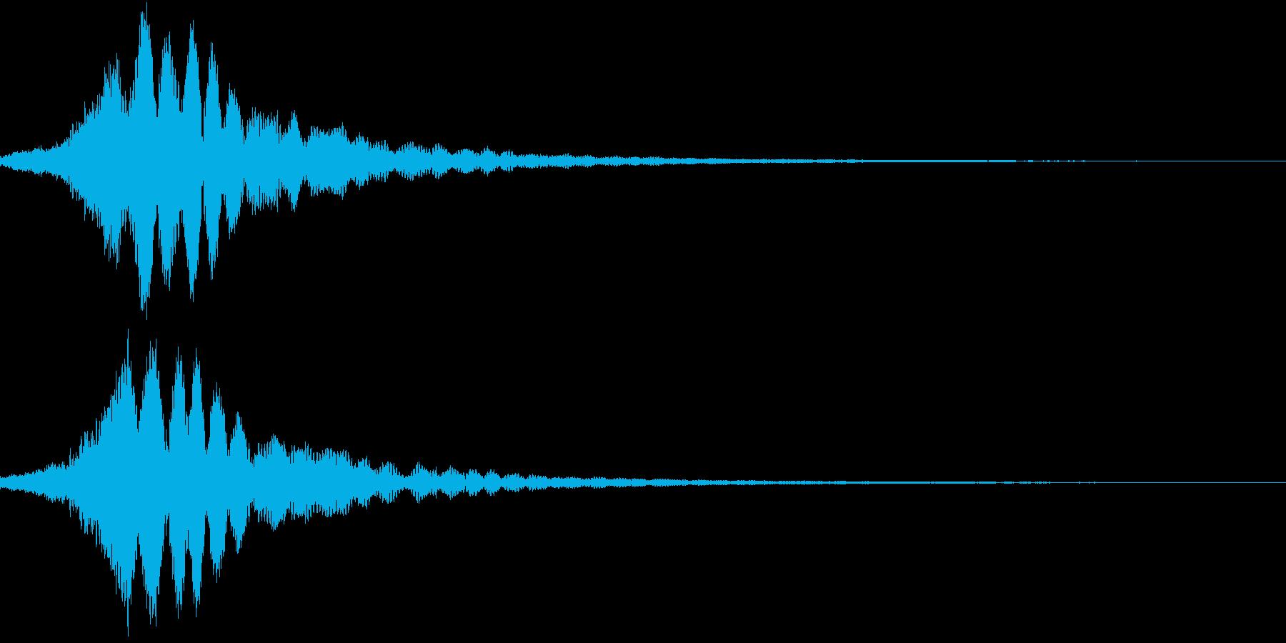 KAIDAN 怪談噺SE サイレンMixの再生済みの波形