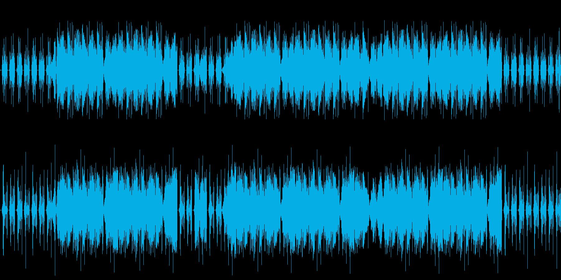 【サイバー/近未来/不思議エレクトロ】の再生済みの波形