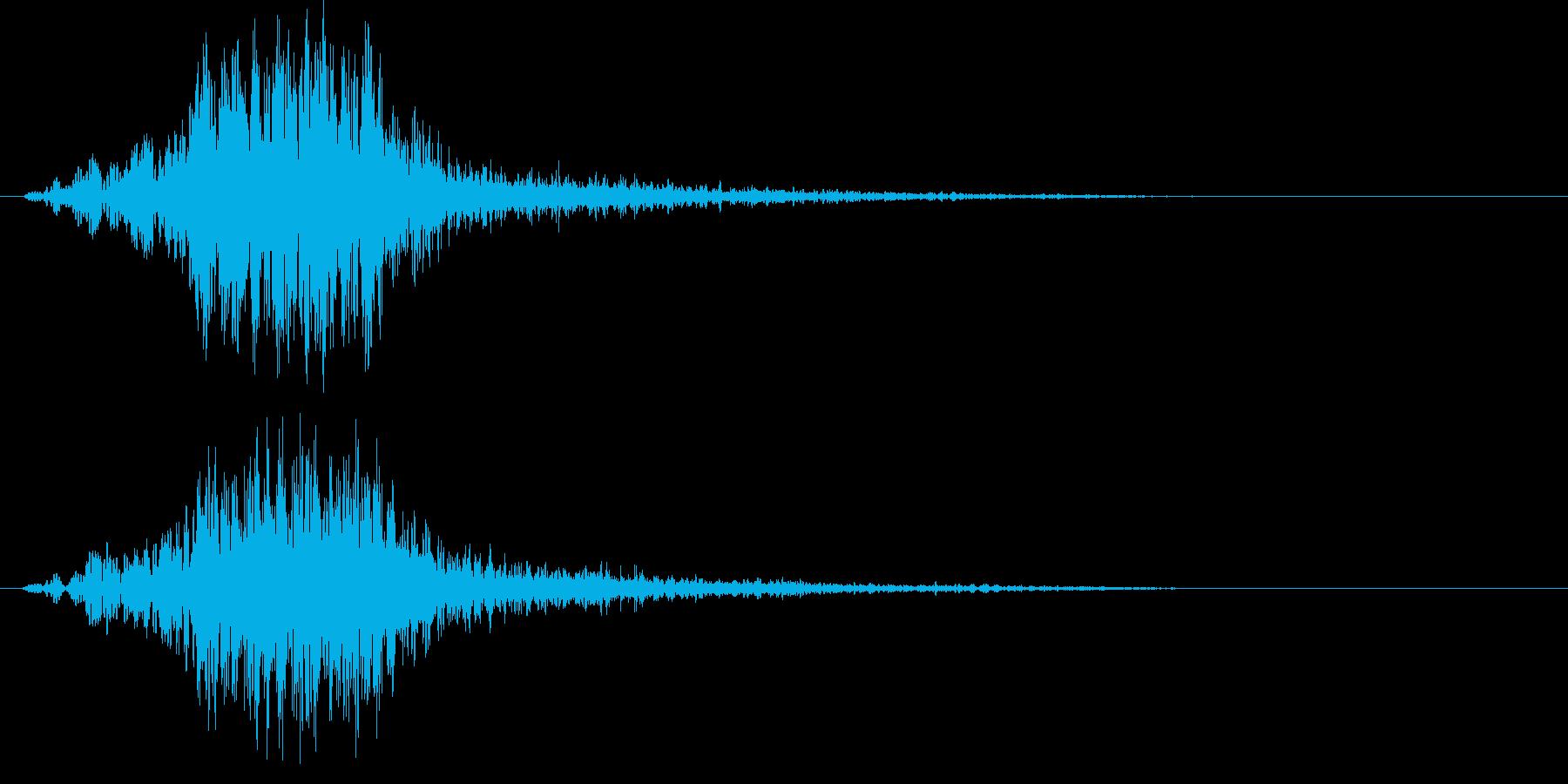 186_リバース2の再生済みの波形