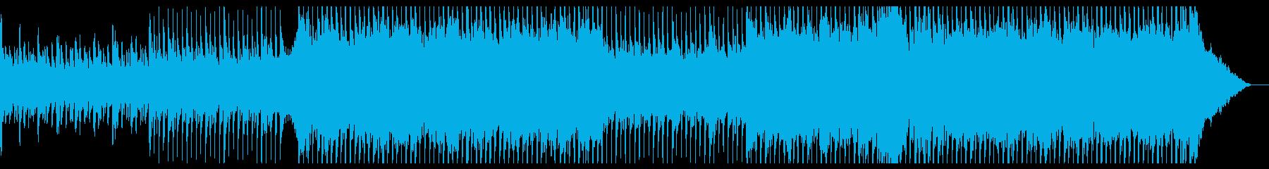 爽やかポップロック・CM映像や企業VPにの再生済みの波形