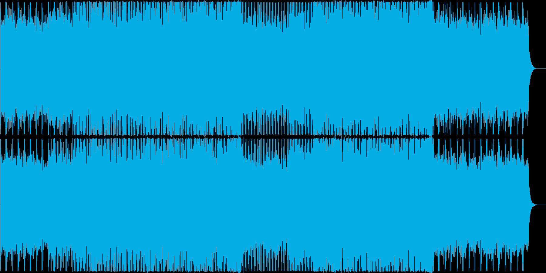 お洒落で軽快なクール系テクノポップの再生済みの波形