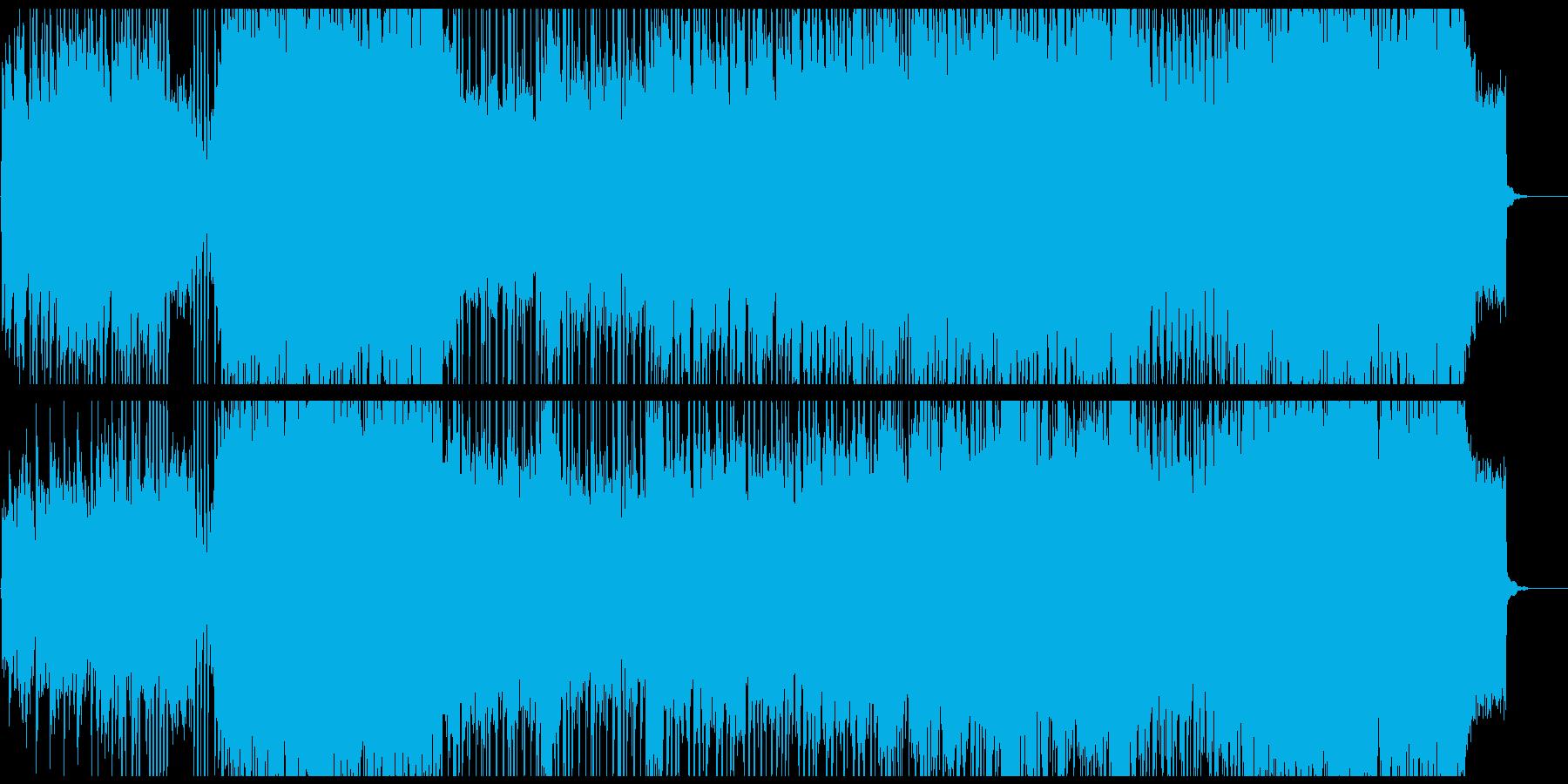 さわやかなアコースティックギターポップの再生済みの波形