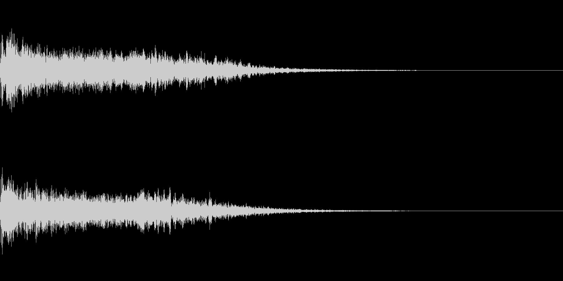 ア〜ン(女性のセクシーな声)の未再生の波形