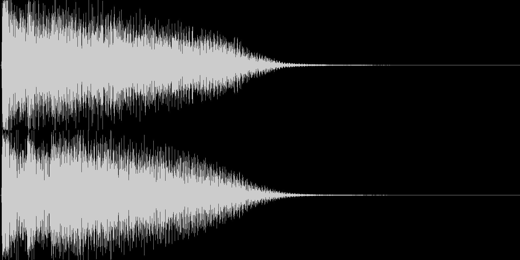 ピアノ(ゲーム、アプリ、サウンドロゴに)の未再生の波形