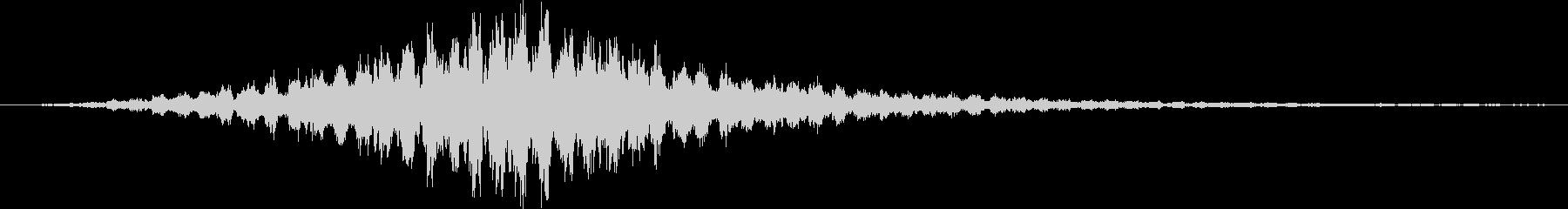 ポリポリポリポリポリポリホ…の未再生の波形