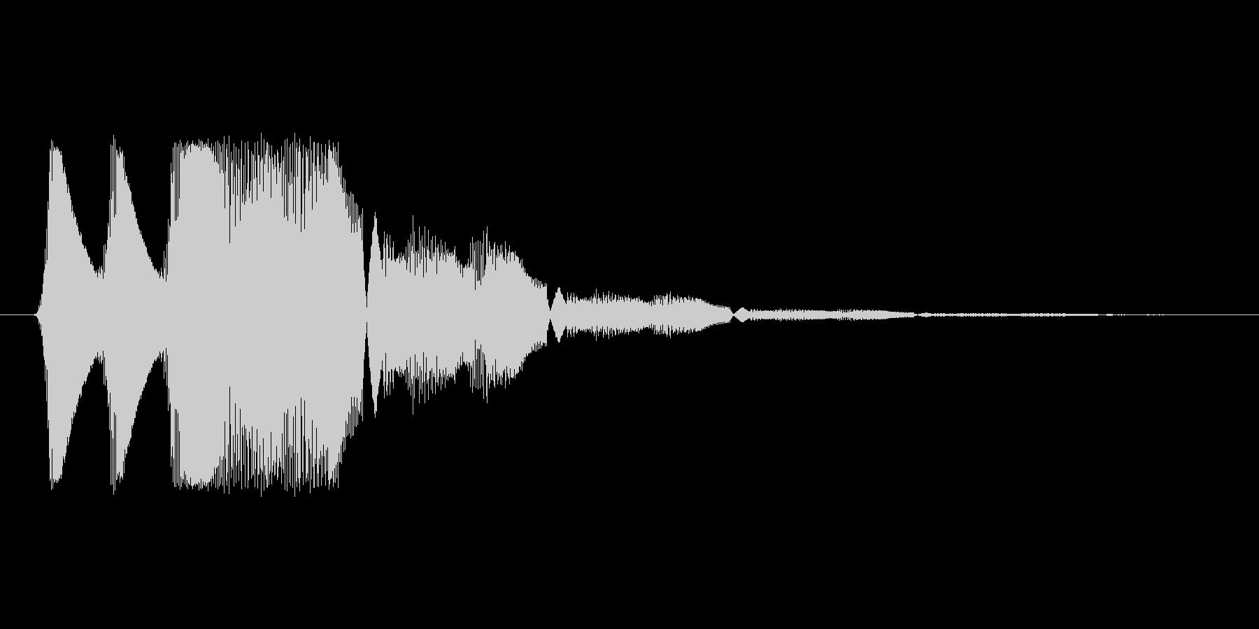 ファミコン風効果音 キャンセル系 05の未再生の波形