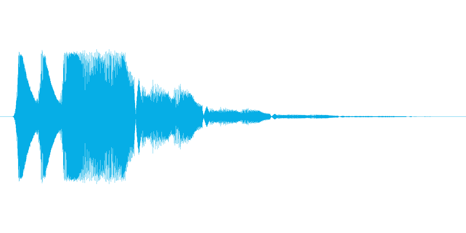 ファミコン風効果音 キャンセル系 05の再生済みの波形