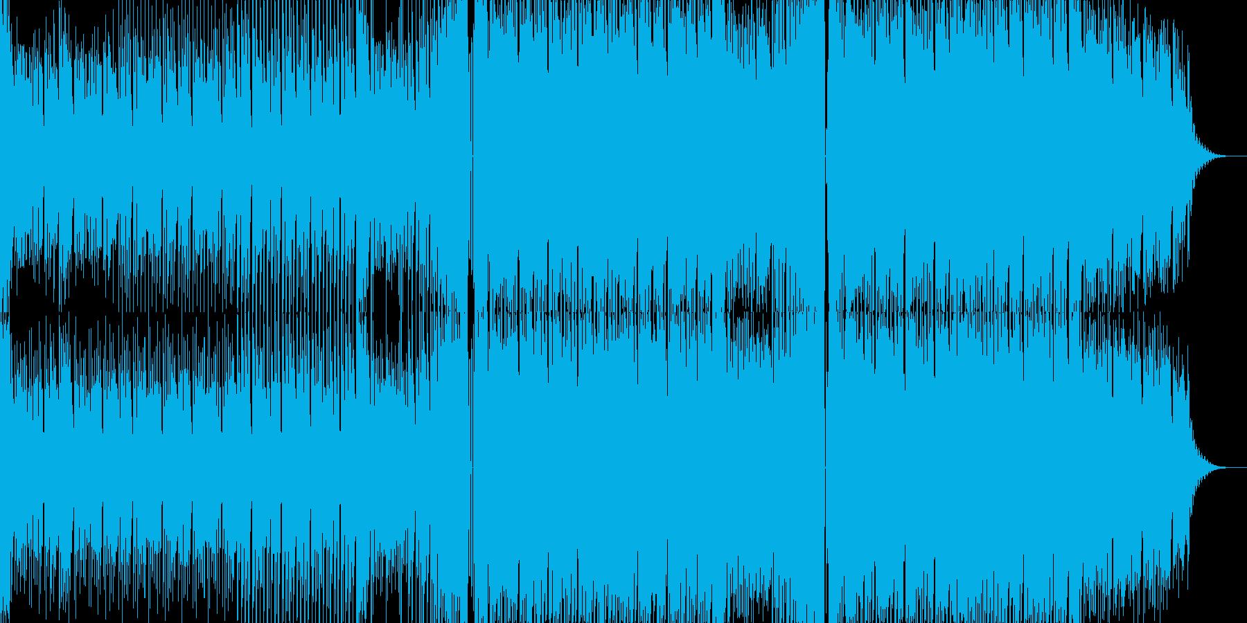 オシャレなEDMの再生済みの波形