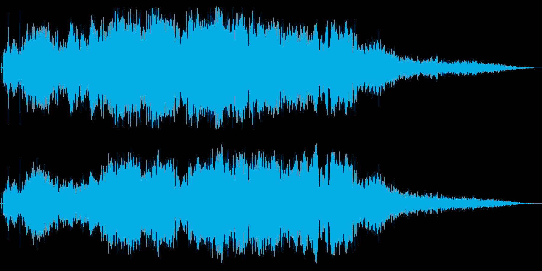F1などのレース、エンジン音に最適11!の再生済みの波形