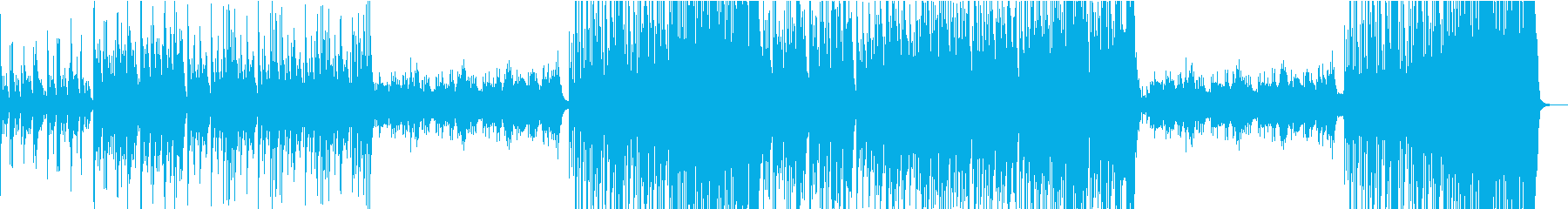 癒しのハワイアンの再生済みの波形