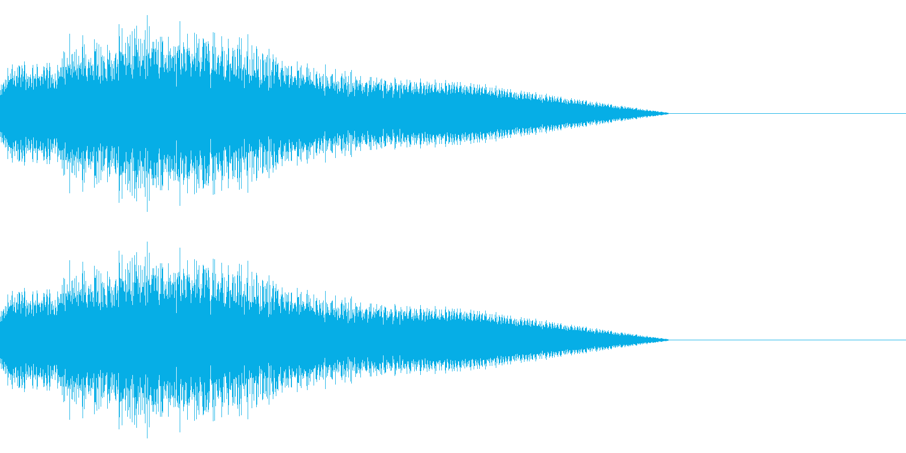 「ピロピロ♪」レトロゲーム風の回復魔法の再生済みの波形
