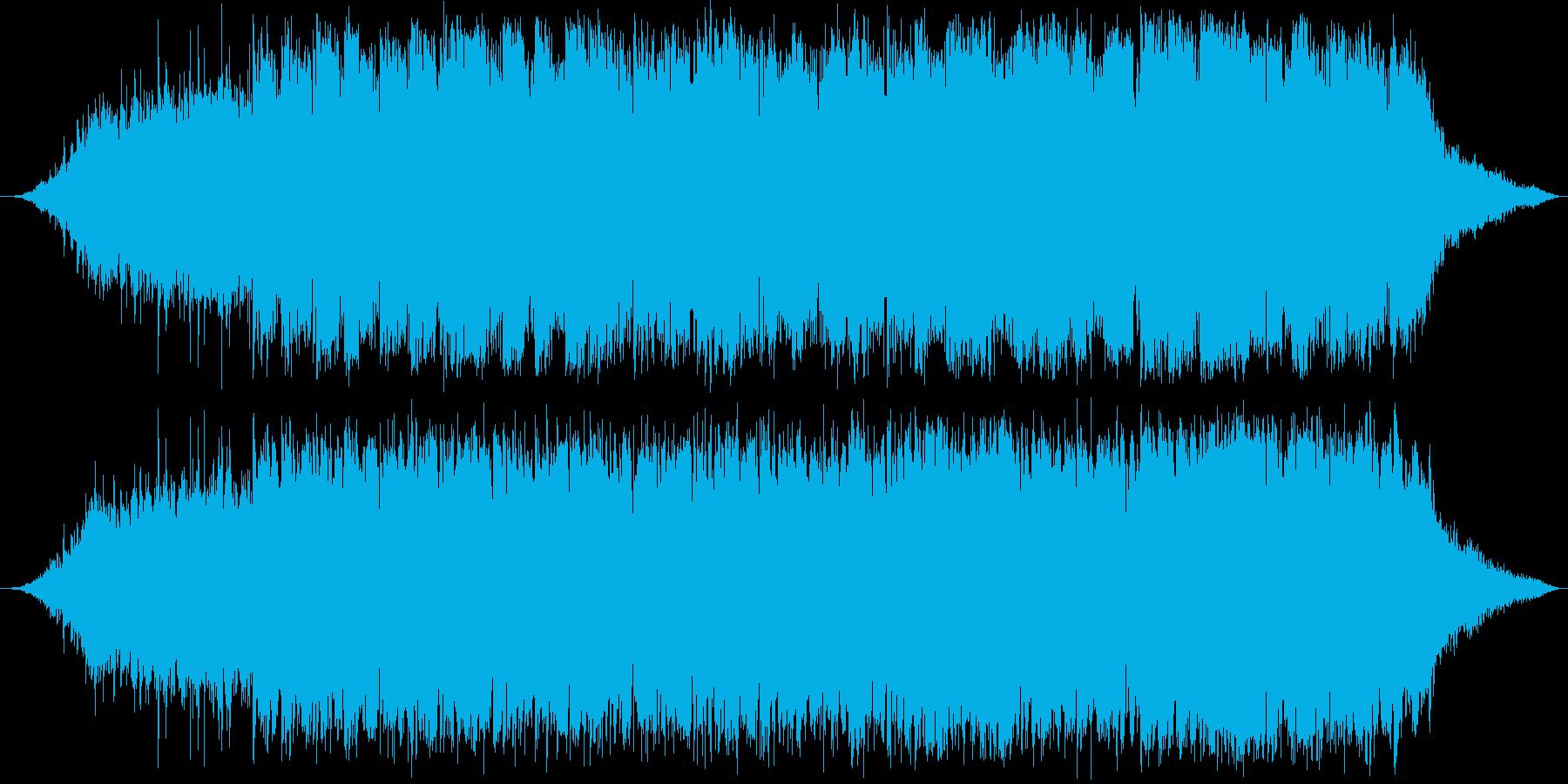 パタゴニアの冬を表現した音楽の再生済みの波形