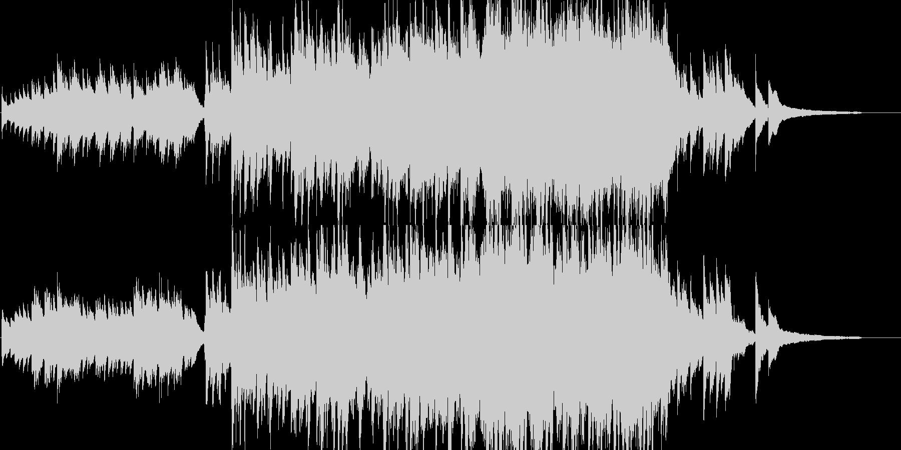 【映像作品用】ピアノと弦の曲 の未再生の波形