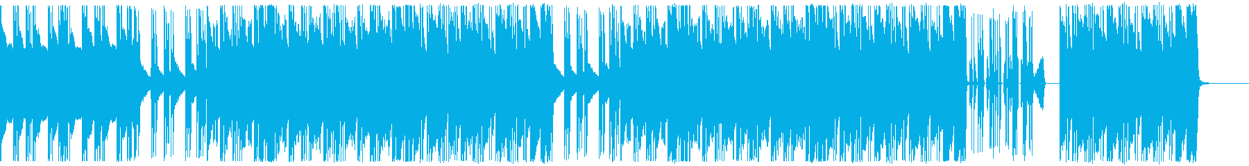 ヒップホップ/超重バス/トラップ#2の再生済みの波形