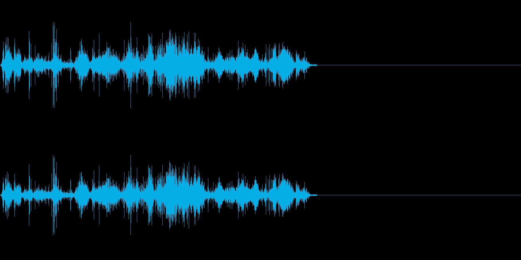 岩が崩れる音 (2)の再生済みの波形
