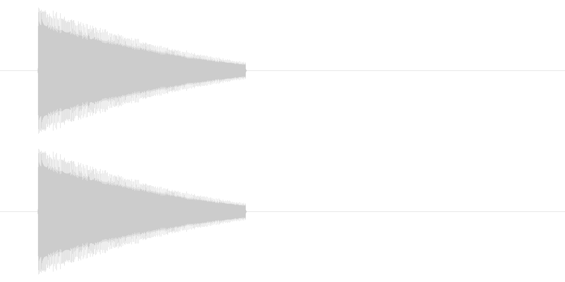 【NES 汎用01-10(ピッチ)】の未再生の波形