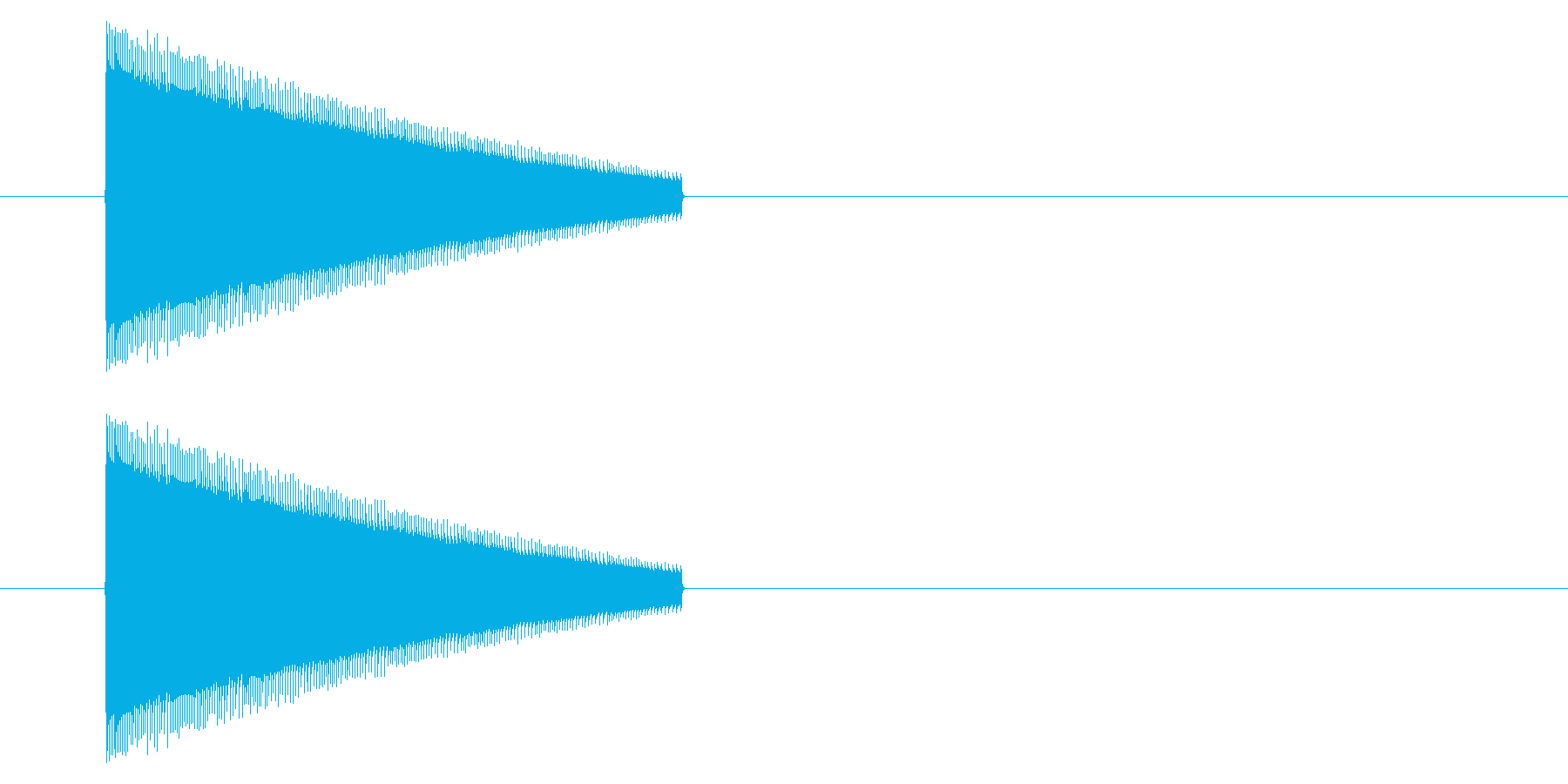 【NES 汎用01-10(ピッチ)】の再生済みの波形
