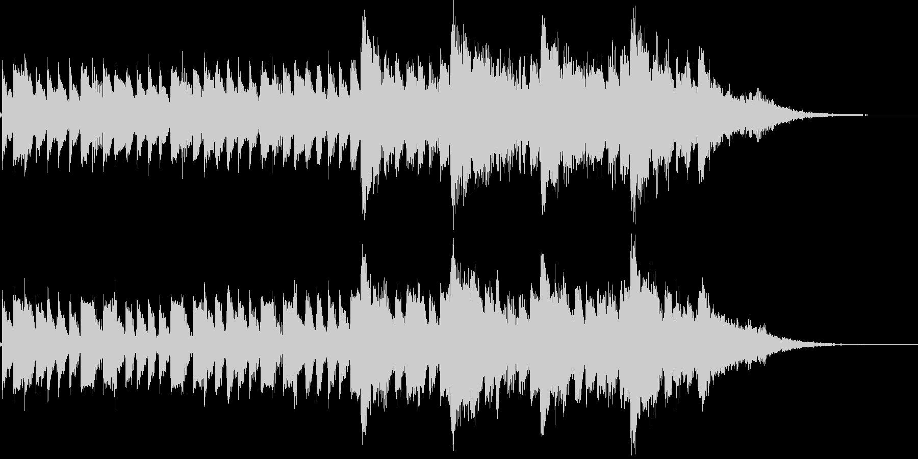 琴 ストリングス ジングル サウンドロゴの未再生の波形