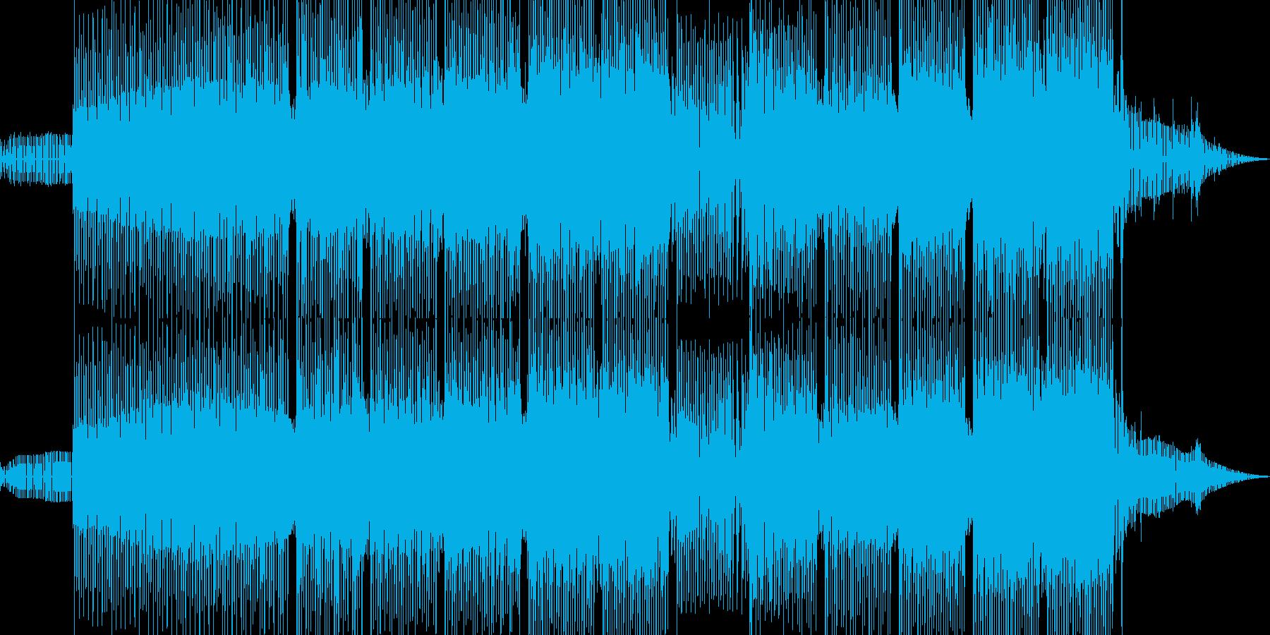 小宇宙的なミニマルテクノの再生済みの波形