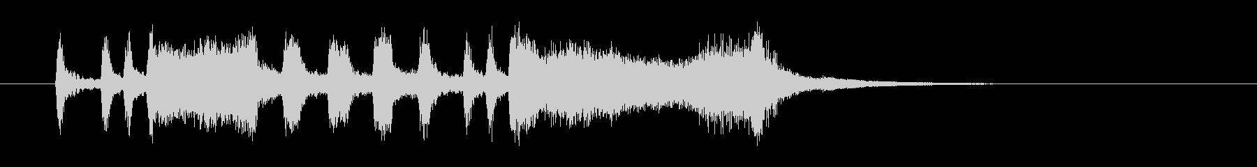パンパカパーン(発表、成功)の未再生の波形