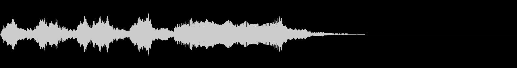 ゲームオーバー オチ ズッコケの未再生の波形