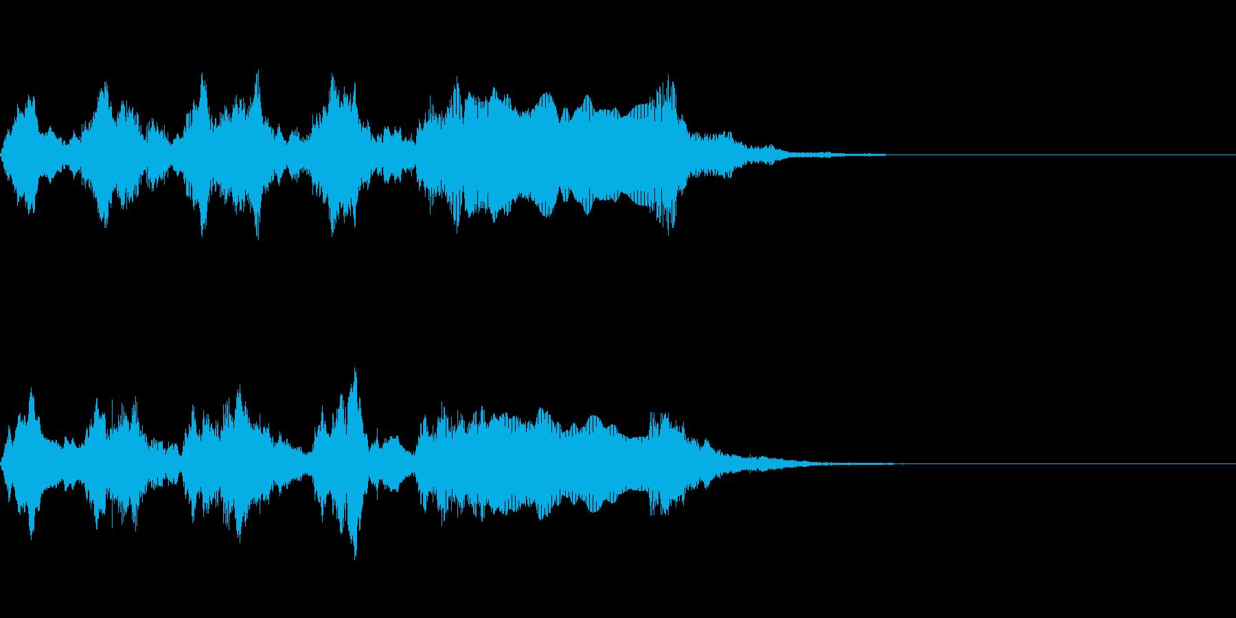 ゲームオーバー オチ ズッコケの再生済みの波形