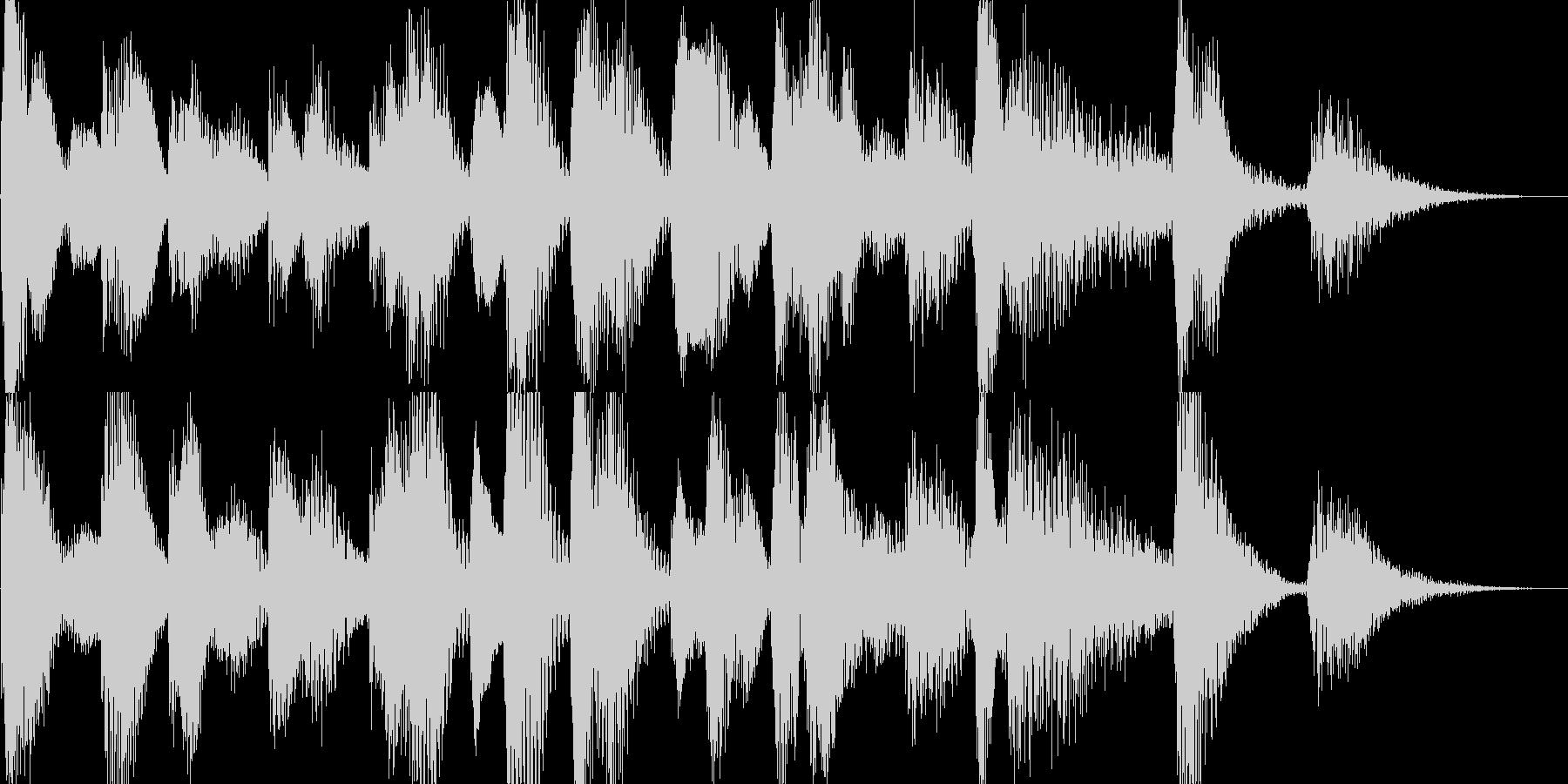 ラグタイムピアノ05sサウンドの未再生の波形