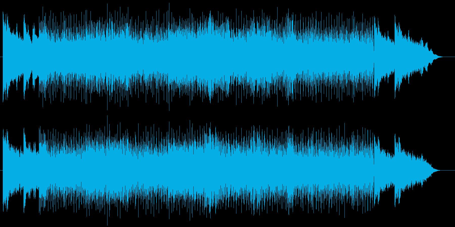 シンプルかつストレートなスラッシュメタルの再生済みの波形