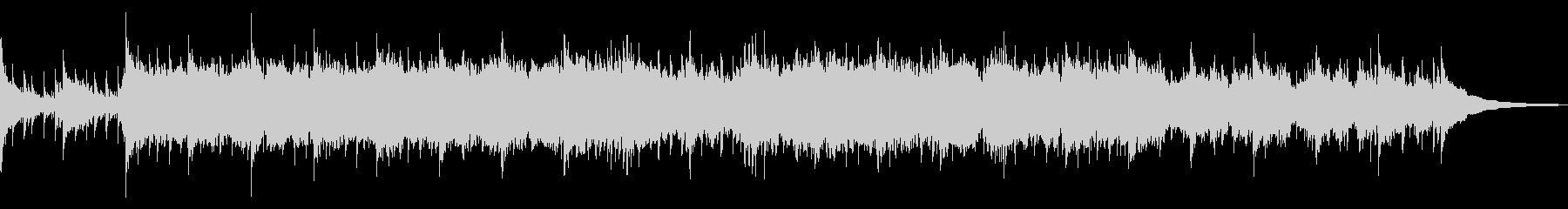 和風でおおらかなイメージのBGMの未再生の波形