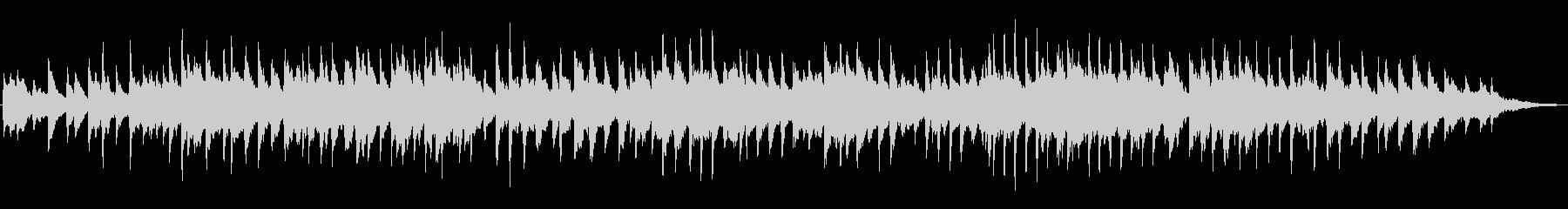 「ふるさと」洗練した落ち着いたピアノソロの未再生の波形