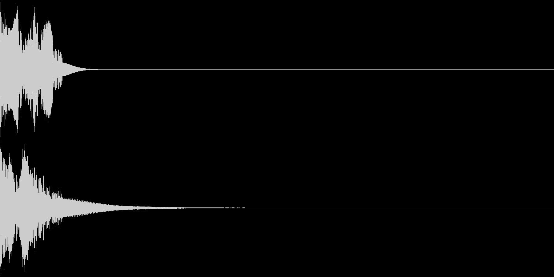 すべった音01(シンセ)の未再生の波形