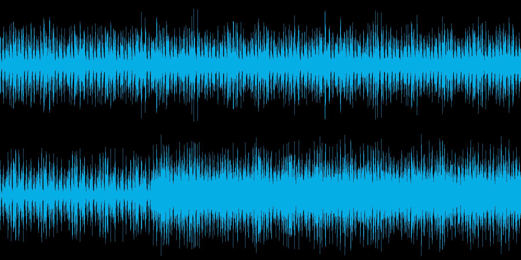 【メロディ・ドラム・ベース】明るいほの…の再生済みの波形
