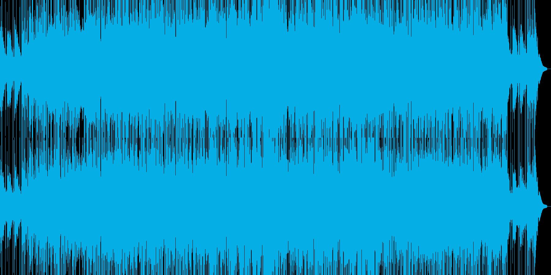 エレガット生録(Smooth Jazz)の再生済みの波形