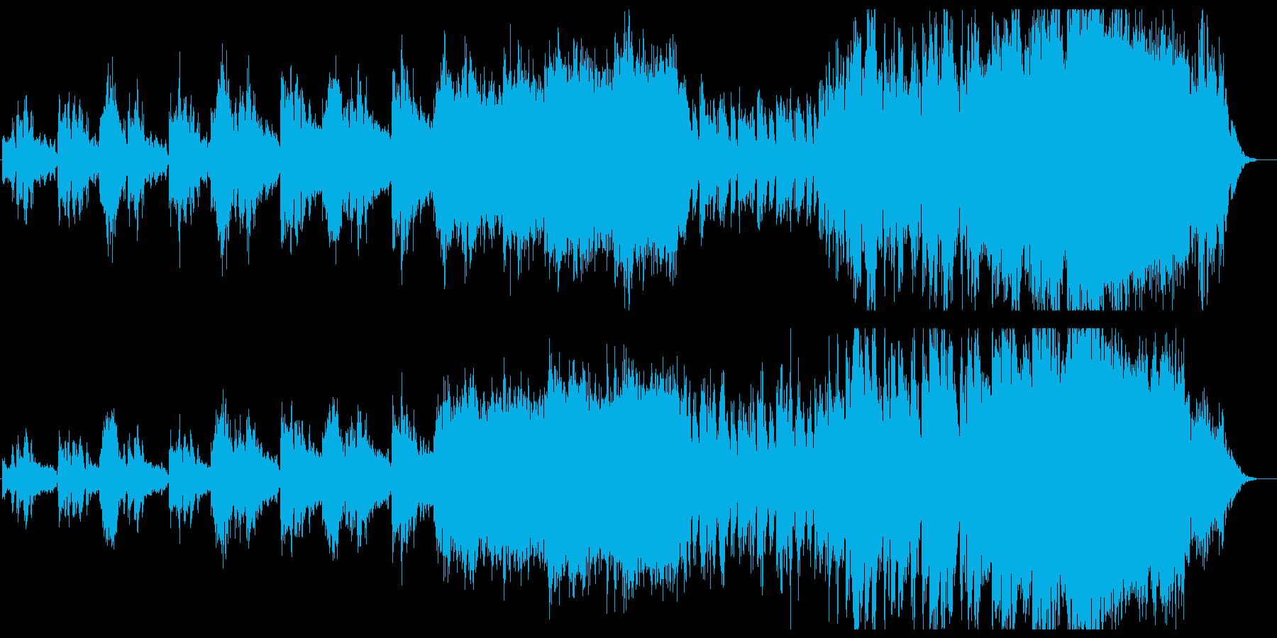 伝承される騎士の物語をイメージしたBGMの再生済みの波形