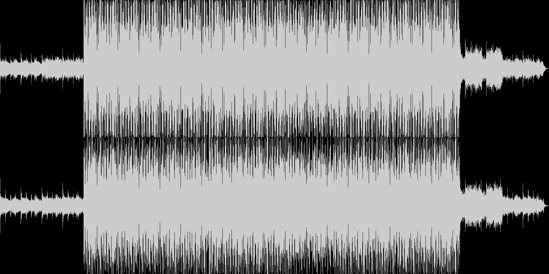 映像向け 壮大なイメージのアンビエントの未再生の波形