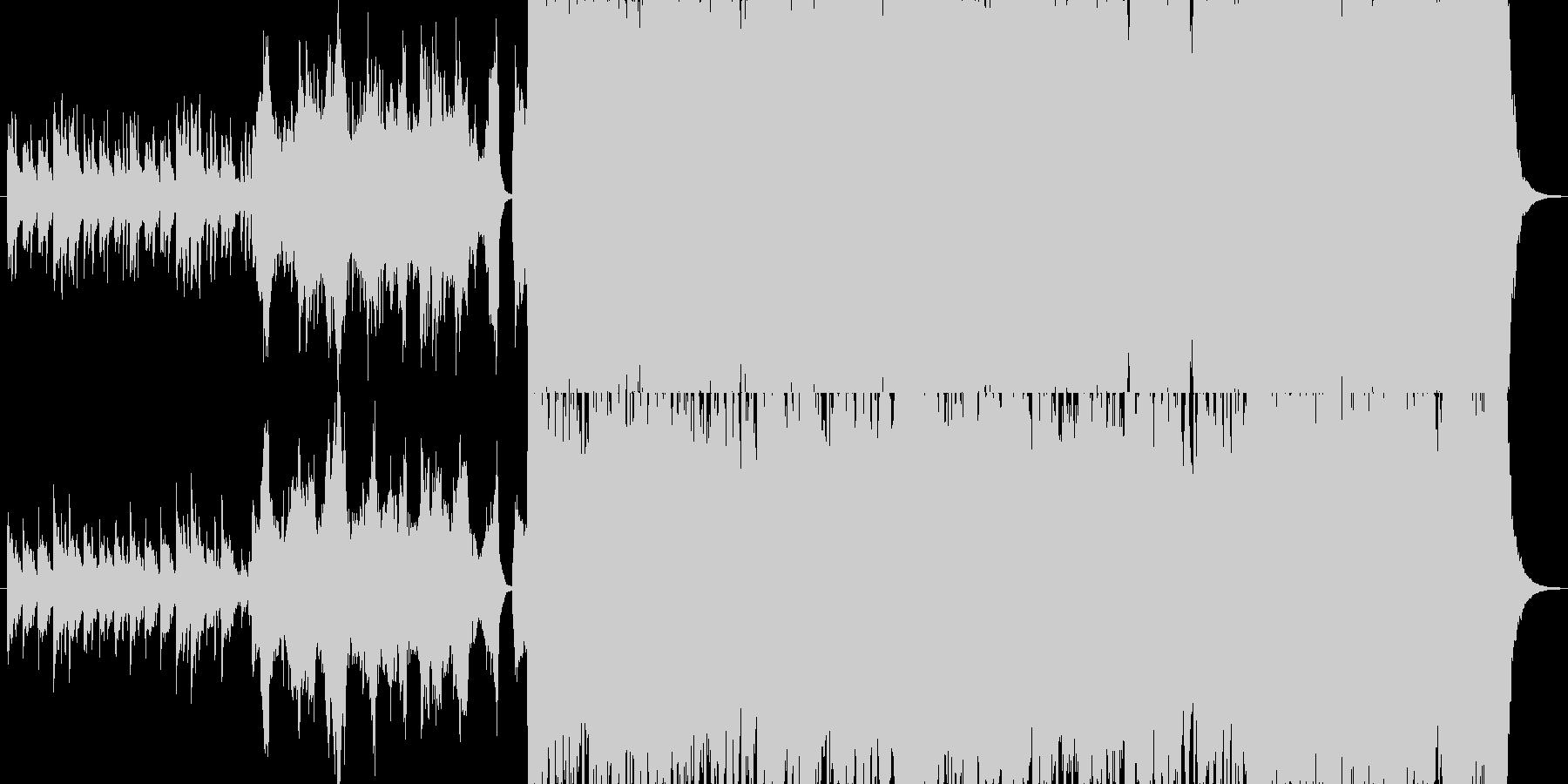 【オーケストラ】壮大なオーケストラの未再生の波形