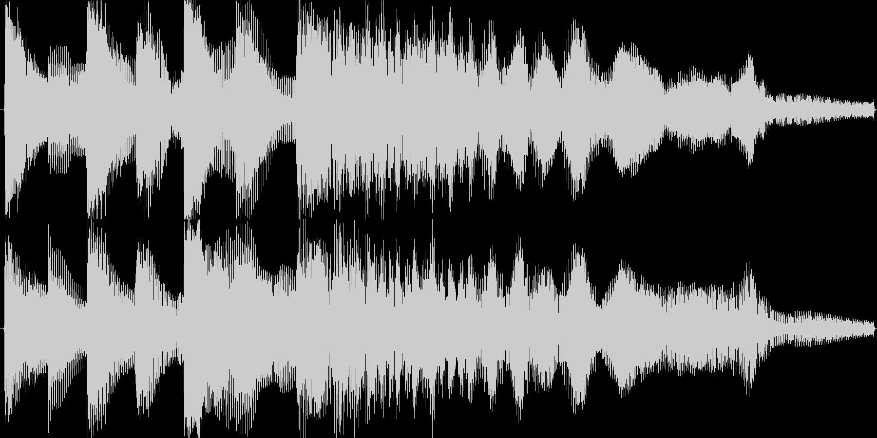 【無駄のないシンプル】ゲームオーバーの未再生の波形
