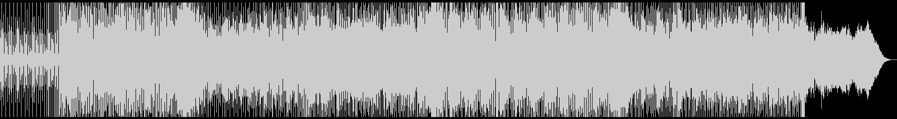 ふわふわとした牧歌的エレクトロニカの未再生の波形