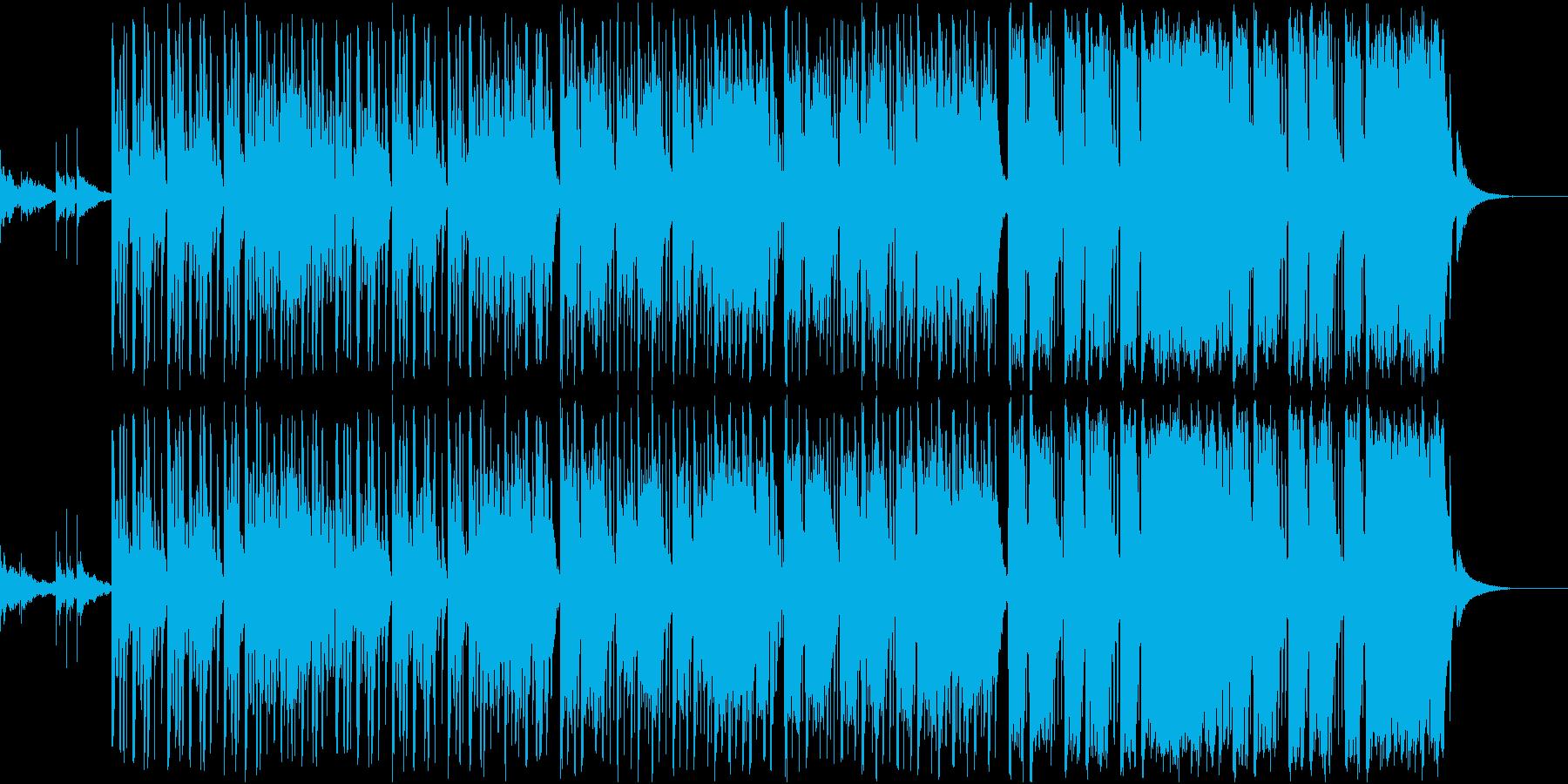 Future Bass 01の再生済みの波形